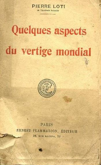 <em>Quelques Aspects du Vertige Mondial</em>
